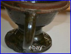 South Carolina Stoneware Jug Johnson pottery butter keeper Laurens County S. C