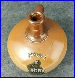 Special Old Irish Whiskey Daulton Stoneware Pottery Glazed Jug # 4817