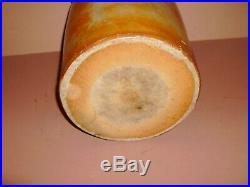 Texas Stoneware Jug Crock Churn Rhonesboro Pottery Tex. Tx. Marked