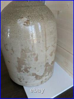 UHL POTTERY 5 gallon stoneware jug EVANSVILLE, IND