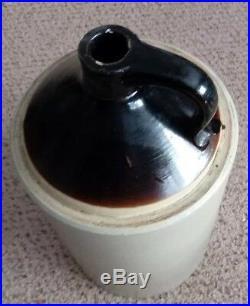 Vintage Pottery 5 Gallon Crock Large Sturdy Stoneware Jug Store Pottery