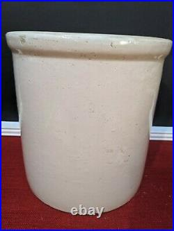 Vintage Red Wing Union Stoneware 2 Gallon Crock 2 Long Wing Jug Pottery Antique