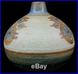 Vintage Soholm Stoneware Danish Pottery Lamp Base Circa 1960