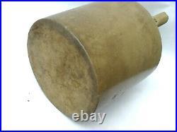 WM Radams Microbe Killer Pottery Stoneware Crock Jug Antique Primitive Clay BT