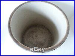 Western Pottery Stoneware Crock 4 Gallon 11 1/2 T x 12 D